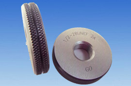 "7/8""-20 UNEF thread ring gauge"