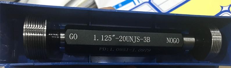 1.125-20UNJS-3B plug gage