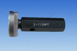 3 1/2-8 NPT thread plug gauge