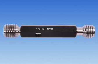 "1/4"" NPSM thread gage"
