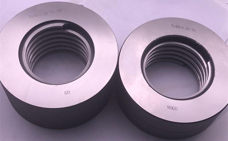 Tr80x10 7e LH thread ring gage