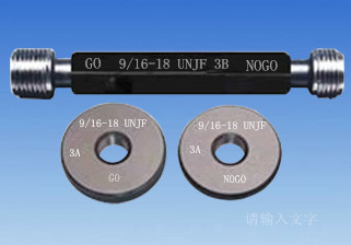 3.75-4 UNJC thread ring plug gauge