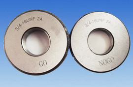 "3/4""-16 UNF thread ring gauge"