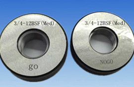 "3/16""x24 BSW thread ring gauge"