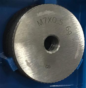 m7x0.5 6g ring-gage